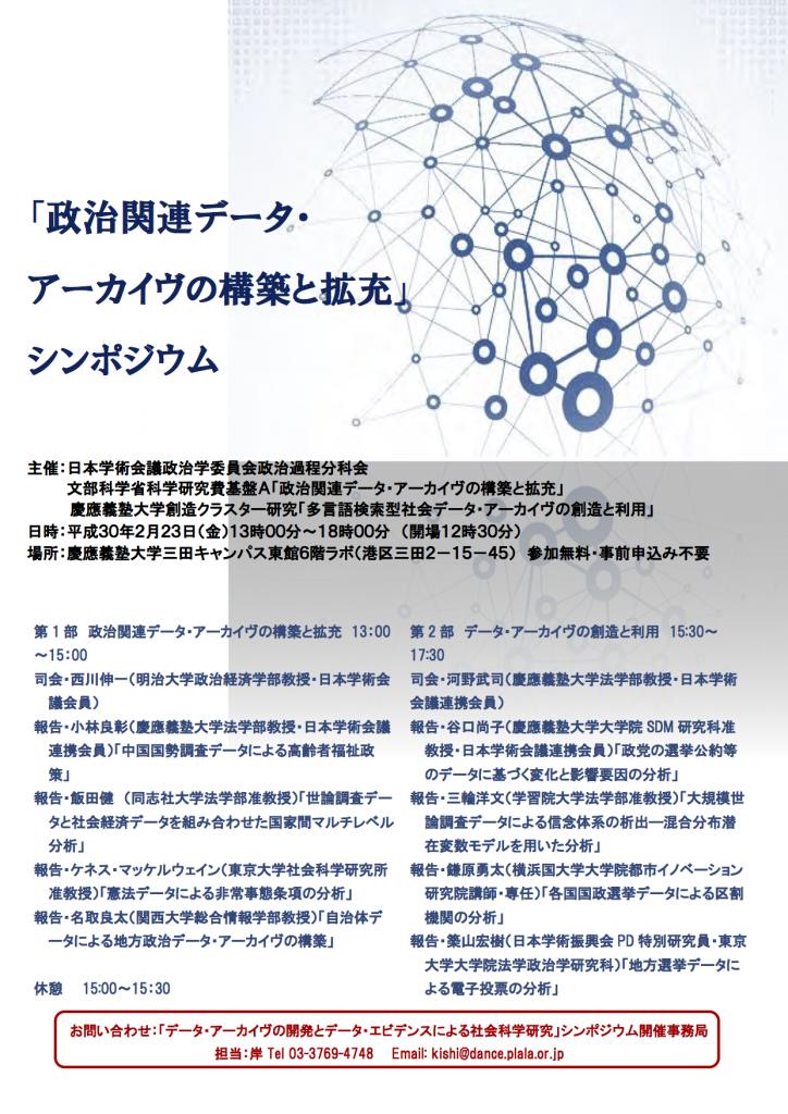SCJ Symposium